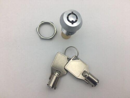 Beaver Lock & 2 Keys For Gumball/Candy Bulk Vending Machine - High Security