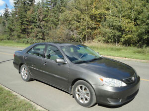 2005 Toyota Camry XLE with low mileage Edmonton Edmonton Area image 5