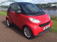 2009 SMART FORTWO 1.0 PASSION MHD 2D AUTO 71 BHP