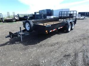 *GUARANTEED LOWEST PRICE* 7 X 16 SOLID SIDE TRAILER – 7K GVWR