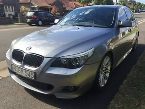 2003 BMW 545i E60 M Sport Steptronic Grey 6 Speed Sports Automatic Sedan Croydon Burwood Area Preview
