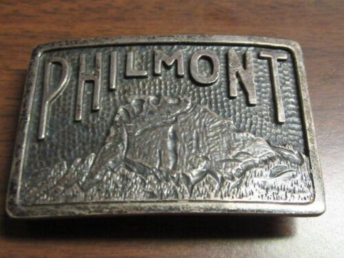 Philmont Scout Ranch Sterling Belt Buckle    c55