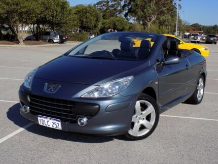 2007 Peugeot 307 T6 CC Sport 5 Speed Manual Cabriolet Maddington Gosnells Area Preview