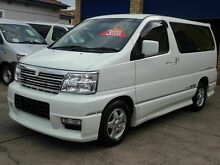 2000 Nissan Elgrand E50 Highway Star White 4 Speed Automatic Wagon Caringbah Sutherland Area Preview