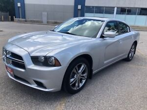 2012 Dodge Charger SXT|AWD|Heated Seats|Sunroof|Accident Free|