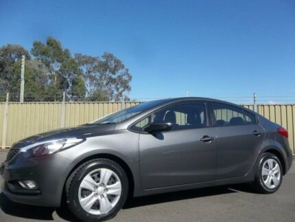 2013 Kia Cerato YD S Grey 6 Speed Automatic Sedan