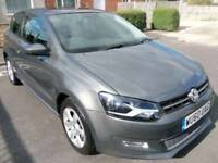 Volkswagen Polo Moda 1.2 2010 Petrol Grey Manual 3 Door Hatchback