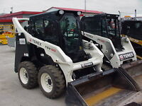 BOBCAT AND TRUCK AVAILABLE FOR LANDSCAPING JOBS