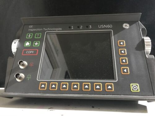 GE Inspection Technologies USN60S Ultrasonic Flaw Detector W/ ALL Options