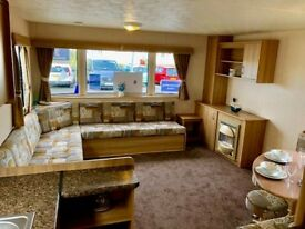 Beautiful ABI Vantage 36x12. Perfect Starter Van. 3 Bedroom at Whitley Bay Holiday Park