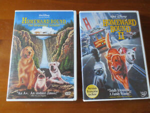 DVD Walt Disney's Homeward Bound collection
