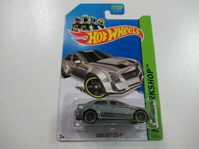 2013 Cadillac CTS-V #152 Hot Wheels Die Cast Car HW Workshop K-Mart Gray Carded