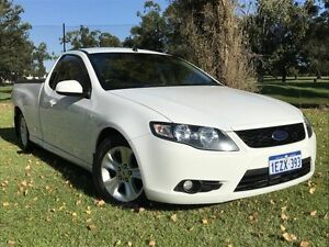 2011 Ford Falcon FG R6 Ute Super Cab White 6 Speed Sports Automatic Utility Embleton Bayswater Area Preview