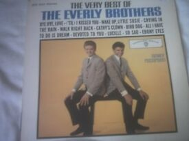 Vinyl LP The Very Best Of The Everly Brothers Warner Brothers WS 1554 Stereo Green Label