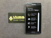 SAMSUNG GALAXY NOTE 4 32GB SIMFREE IN GREY COMES WITH CHARGER AND THREE MONTHS WARRANTY
