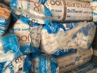 12 rolls of Dritherm Cavity slab insulation for sale, still packaged