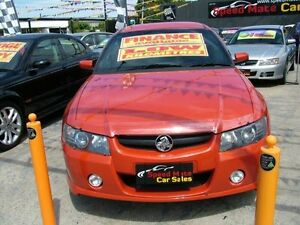 2006 Holden Commodore VZ MY06 Upgrade SS Thunder Orange 6 Speed Manual Utility Coburg North Moreland Area Preview