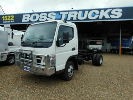 2010 Mitsubishi Canter 3.5 White Cab Chassis 4.9l 4x2 Rocklea Brisbane South West Preview