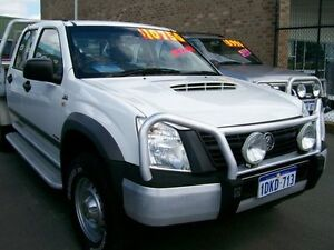 2007 Holden Rodeo 4X4 D/CAB 3.0 vcdi White 5 Speed Manual Crewcab Wangara Wanneroo Area Preview