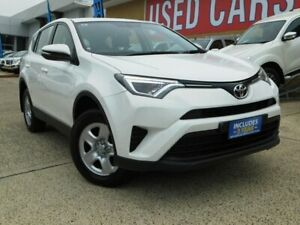 2016 Toyota RAV4 ASA44R MY16 GX (4x4) White 6 Speed Automatic Wagon Belconnen Belconnen Area Preview