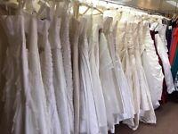 Wedding Dresses Job Lot of 10 Designer dresses at less than Wholesale Cost