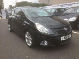 Vauxhall Corsa VXR Black 1.6 Turbo Petrol 3 Door Hatchback
