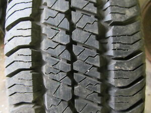 Single Goodyear Wrangler 16 inch Tire Full Tread 235 70 16