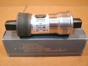 New-Old-Stock-Shimano-50-Series-Bottom-Bracket-68x110mm-Made-in-Japan