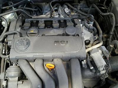 SKODA VW SEAT 2.0FSI BVY ENGINE MOTOR PETROL 2007 COMPLETE
