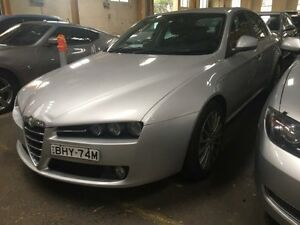 2009 Alfa Romeo 159 2.4 JTD Silver 6 Speed Automatic Sedan Georgetown Newcastle Area Preview