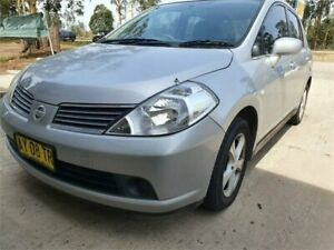 2007 Nissan Tiida C11 MY07 ST Silver 4 Speed Automatic Sedan South Nowra Nowra-Bomaderry Preview