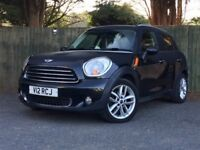 Mini Countryman Cooper 1.6D with Chilli Pack and Pepper Pack and FSH..Tax only £30
