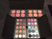 MAC Eyeshadow Palette x2 and Blusher Palette x2 for Sale. Immaculate condition. 100% Authentic
