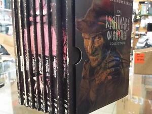 Coffret des film ''Nightmare on elm street '' freddy anglais