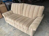 2/3 Seater Sofa/ Settee. Virtually Brand New