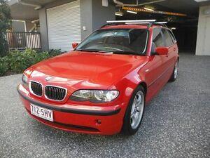 2003 BMW 320i E46 TOURING  320I TOURING  Red 5 Speed Automatic Wagon