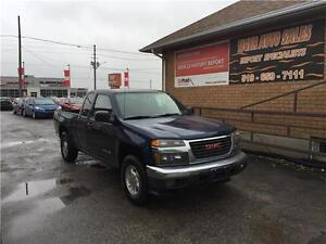 2004 GMC Canyon SL**EXT CAB** ONLY 209 KMS**AUTOMATIC***