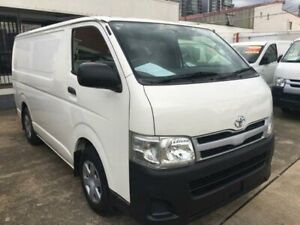 2012 Toyota HiAce KDH201R MY11 Upgrade LWB White 4 Speed Automatic Van Granville Parramatta Area Preview