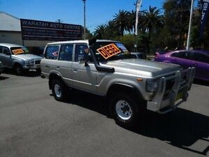 1988 Toyota Landcruiser FJ75R (4x4) Gold 5 Speed Manual 4x4 Wagon Waratah Newcastle Area Preview