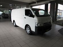2013 Toyota Hiace KDH201R MY12 Upgrade LWB French Vanilla 4 Speed Automatic Van Thornleigh Hornsby Area Preview