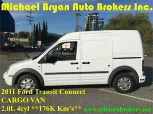 2011 FORD TRANSIT CONNECT CARGO VAN *BULKHEAD / STEEL SHELF*