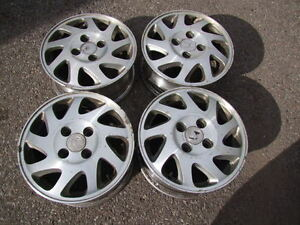 4 - 15' 4 BOLT x 4.5 or 114.3 BOLT PATTERN WHEELS ALLOY