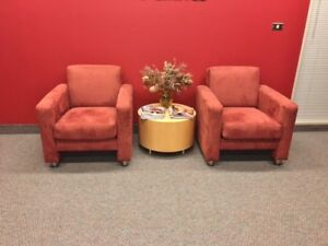 STEELCASE ACCENT/LOUNGE CHAIRS - MINT CONDITION NEVER USED