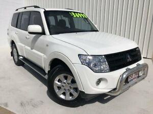 2013 Mitsubishi Pajero NW MY14 GLX-R White 5 Speed Sports Automatic Wagon Mundingburra Townsville City Preview