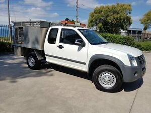 2008 Holden Rodeo RA MY08 LX White 4 Speed Automatic Moorebank Liverpool Area Preview