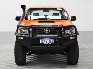 2012 Toyota Hilux KUN26R MY12 SR (4x4) Orange 5 Speed Manual Dual Cab Pick-up Jandakot Cockburn Area Preview