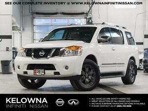 2014 Nissan Armada Platinum w/Captain Chair and Reserve Packages