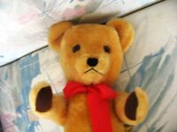 "20"" GOLDEN HONEY ENGLISH DEAN GWENTOY VINTAGE MOHAIR BEAR"