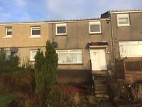 Large 3 bed House to let, excellent condition, newly decorated, Stunning Views of the Clyde Valley