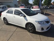 2011 Toyota Corolla ZRE152R MY11 Ascent Glacier White 4 Speed Automatic Sedan Park Holme Marion Area Preview